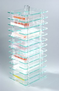12 Multiwell Plate Storage Tower